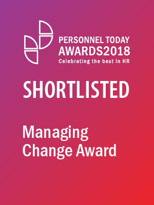 Managing change award